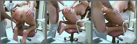 A cuatro patas encima de una silla