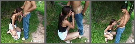 Want Mamada en el parque nice