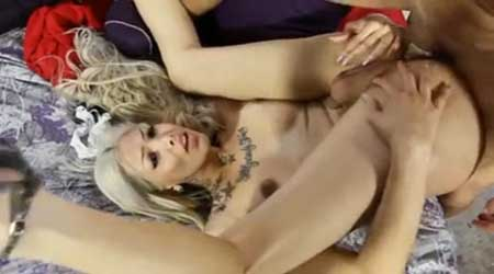 sexo anal rubia muñeca